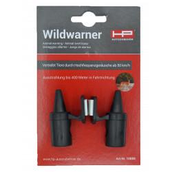 Wildwarner, schwarz,1 Paar