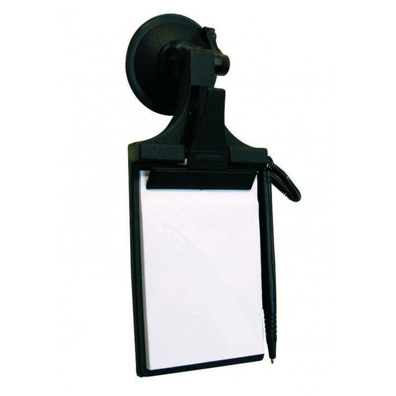 noteblock holder with ballpen