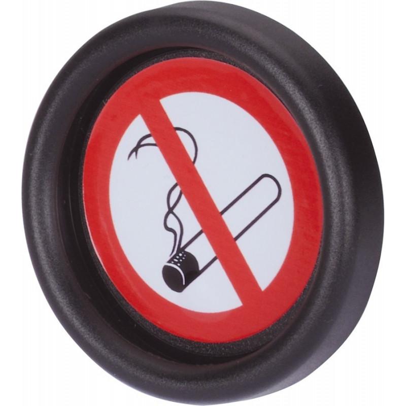 """Hinweisschild """"rauchfreie Zone"""" Ø 48 mm"""