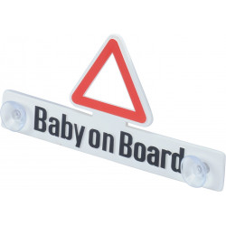 "Hinweisschild ""Baby on Board"""