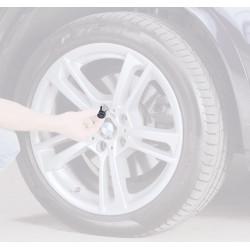Reifen-Lagerungsmarkierung mit Aufkleber in 5 Sprachen