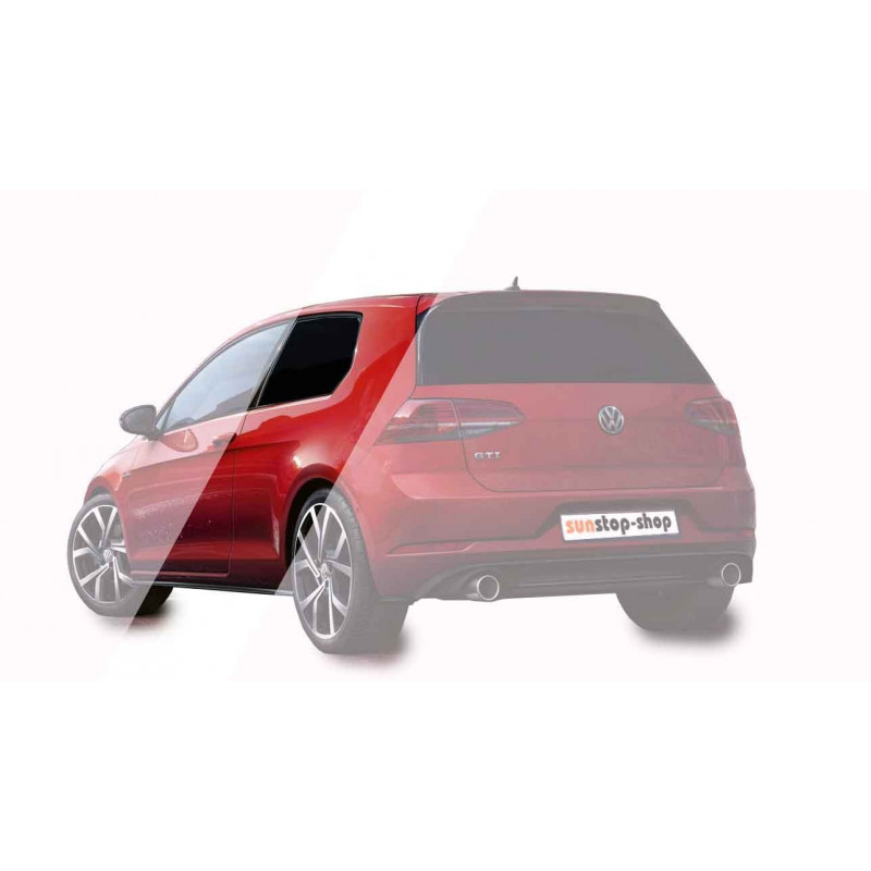 SunStop Performance Tint Film Limo Black 6% set for Cars 76x150cm + 50x150cm